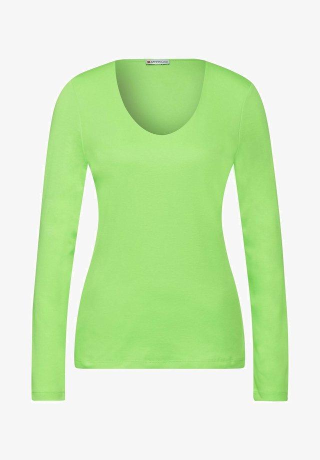 BASIC STYLE - Long sleeved top - grün
