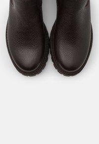 Anna Field - LEATHER - Boots - dark brown - 5