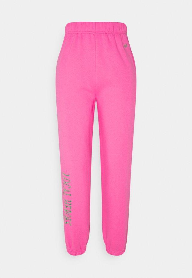 Pantaloni sportivi - pink