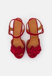 Chie Mihara - BRI EKUNE - Sandalen met plateauzool - rojo - 4