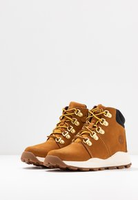 Timberland - BROOKLYN HIKER - Lace-up ankle boots - wheat - 3