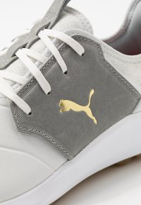 Puma Golf - IGNITE NXT CRAFTED - Golfové boty - white/high rise/team gold - 5