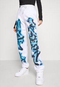 Jaded London - CUFFED JOGGERS NOT YOUR - Verryttelyhousut - blue - 3