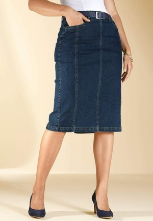 Denim skirt - blue stone