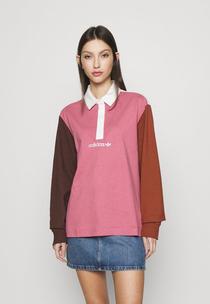 adidas Originals - LONGSSLEVE  - Polo shirt - multicolor