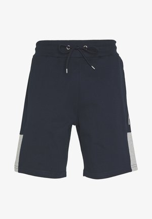 SCRIPT SIDE PANELLED  - Trainingsbroek - navy