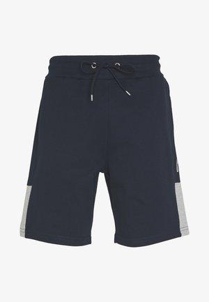 SCRIPT SIDE PANELLED  - Teplákové kalhoty - navy