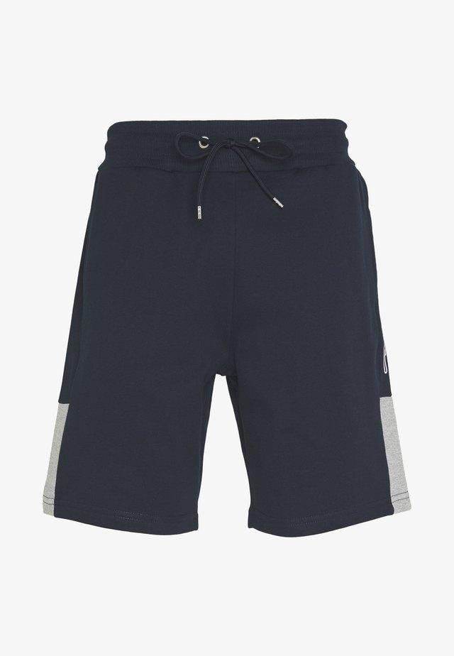 SCRIPT SIDE PANELLED  - Pantaloni sportivi - navy