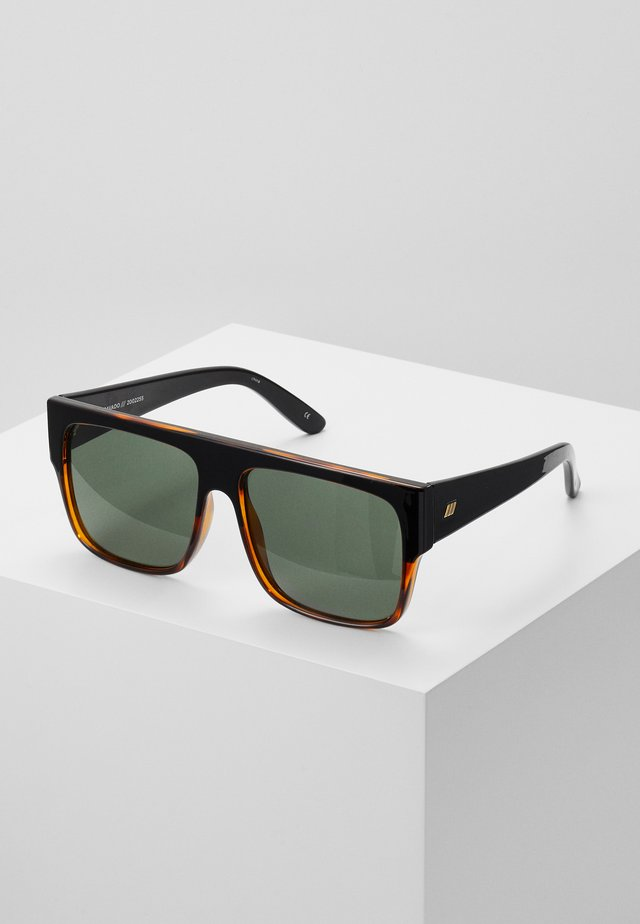 BRAVADO - Sunglasses - black/tort splice