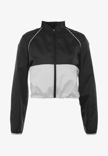 VELOCITY JACKET - Sports jacket - black/white