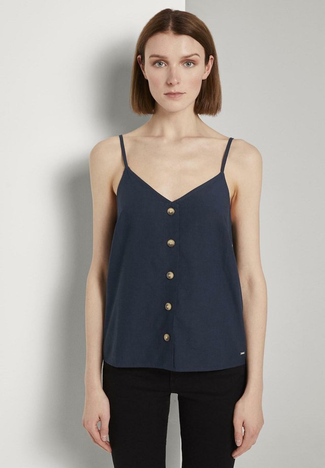 Blusa - real navy blue