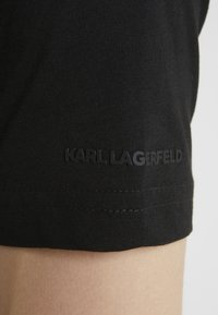 KARL LAGERFELD - DUO 2 PACK - Basic T-shirt - black - 5