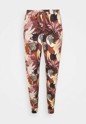 PANT ABSTRACT LEAF - Bas de pyjama - pink