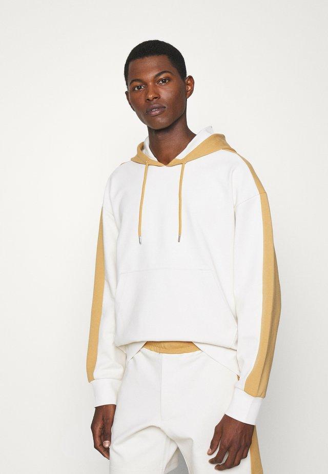 HOODIE - Sweatshirt - khaki multi