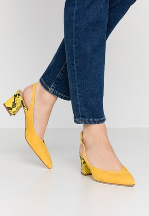 Classic heels - giallo