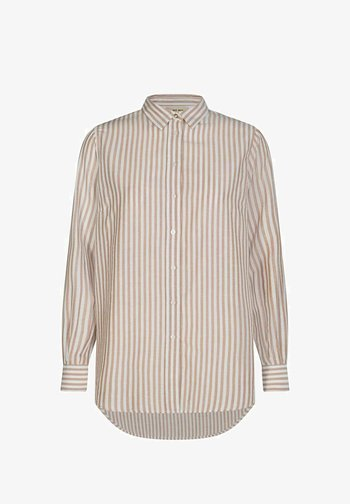 KARLI - Button-down blouse - beige
