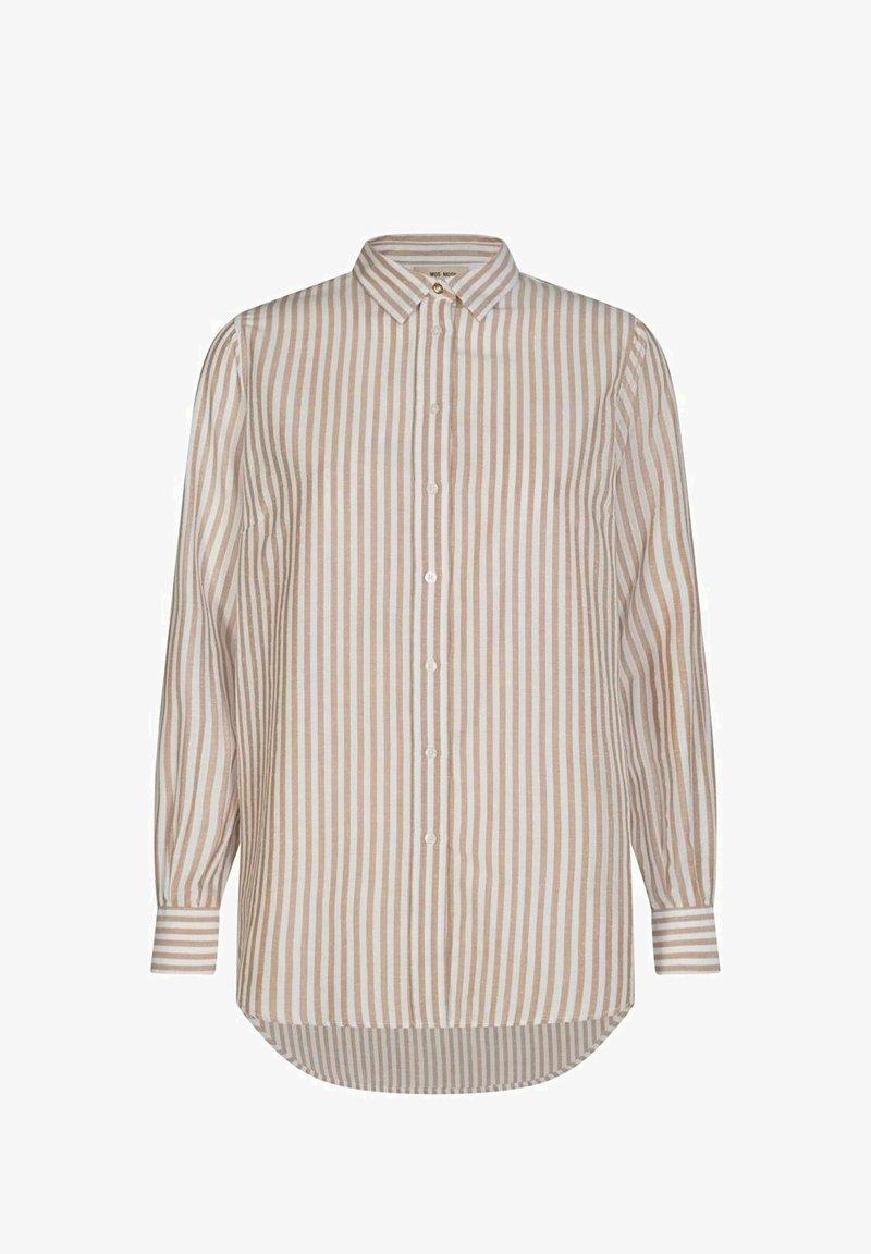 Mos Mosh - KARLI - Button-down blouse - beige