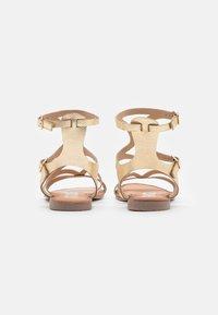 Gioseppo - Ankle cuff sandals - oro - 4
