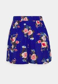 Vila - VIMESA - Shorts - mazarine blue/red - 1
