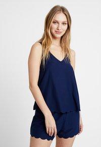 Even&Odd - Pyjama set - dark blue - 0