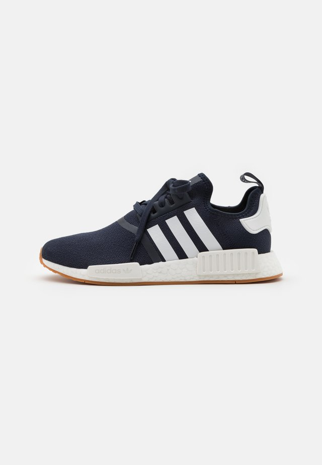 NMD R1 UNISEX - Sneakers - collegiate navy/footwear white