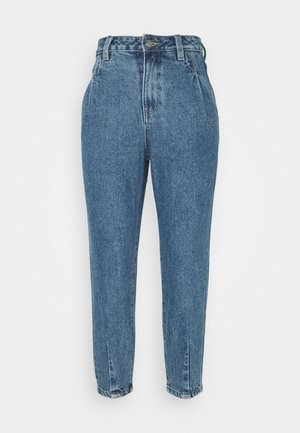 OBJMILA SLOUCHY  - Jeans relaxed fit - medium blue denim