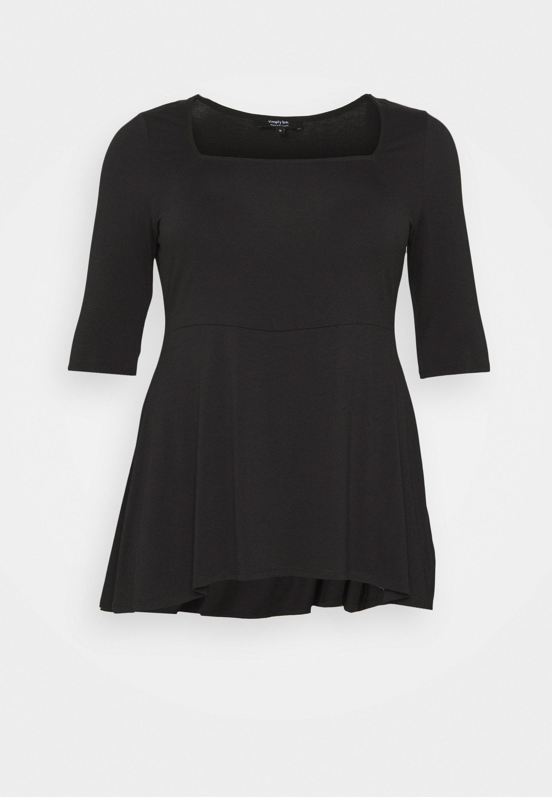 Damen SQUARE NECK TUNIC - T-Shirt basic
