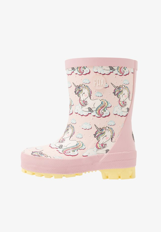 UNICORN - Gummistøvler - pink/multicolor