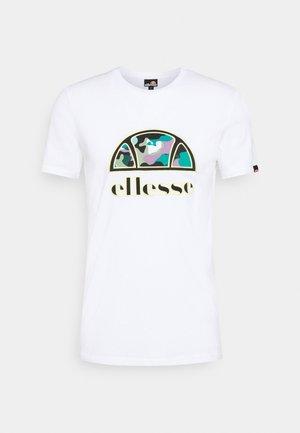 HEBBER - T-shirt med print - white