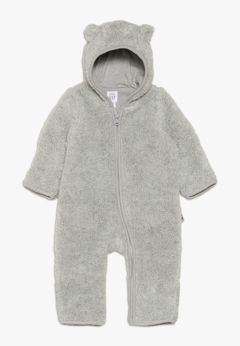GAP - SHERPA BABY - Jumpsuit - light heather grey