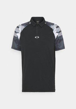 CHIPSHOT CAMO - Polo shirt - blackout