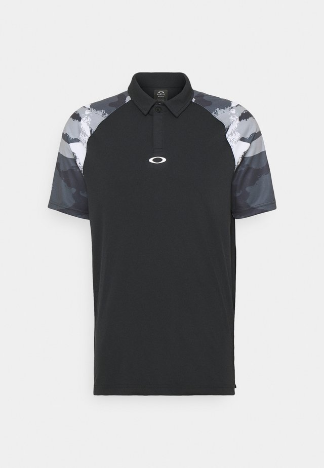 CHIPSHOT CAMO - Polo shirt - blackout