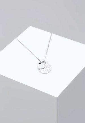PLÄTTCHEN GEO - Halskæder - silver-coloured