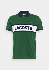 Lacoste Sport - BLOCK LOGO - Polo - green/white/navy blue - 0