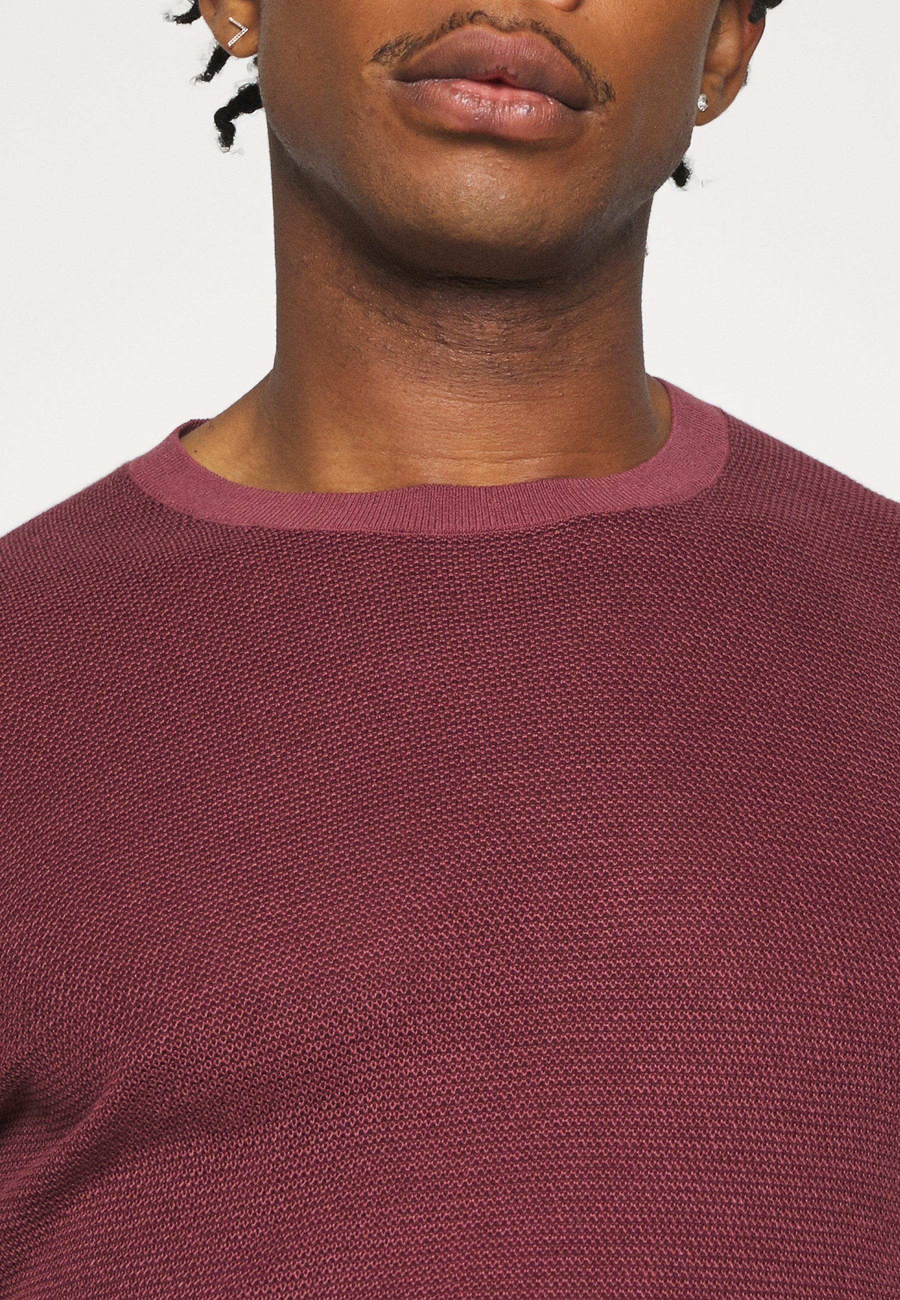 Abercrombie & Fitch T-shirt z nadrukiem - red - Odzież męska Tani