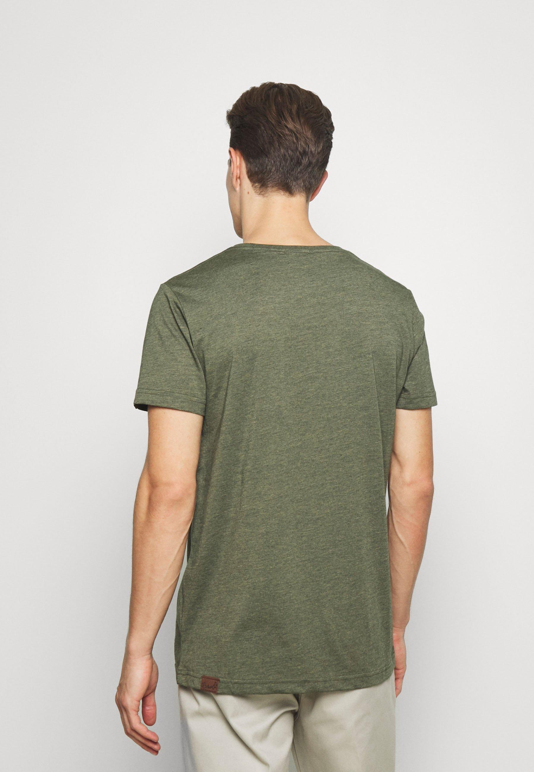 Ragwear NEDIE - Basic T-shirt - olive KH6Rw