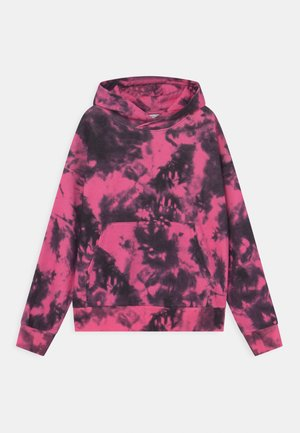 HOODIE STREET TIEDYE UNISEX - Sweatshirt - strong pink