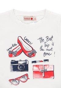Boboli - Print T-shirt - white - 3