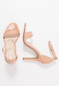 Glamorous Wide Fit - Sandály na vysokém podpatku - beige - 3