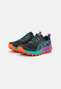 ASICS - GEL-TRABUCO 9 - Scarpe da trail running - black/baltic jewel - 1