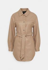 Vero Moda - VMVINCE JACKET - Short coat - silver mink - 0