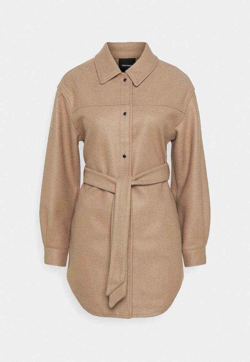Vero Moda - VMVINCE JACKET - Short coat - silver mink