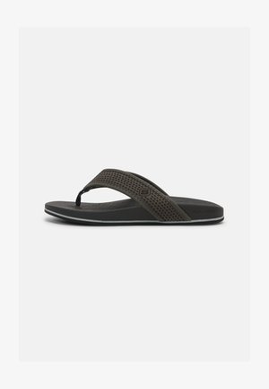 PELEM EMIRO - T-bar sandals - charcoal