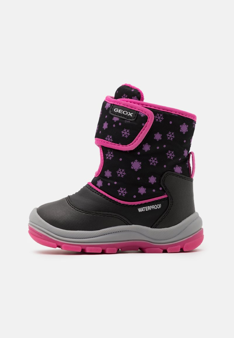 Geox - FLANFIL GIRL WPF - Baby shoes - black