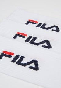 Fila - UNISEX TENNIS FULL TERRY SOCKS 6 PACK - Socks - white - 3
