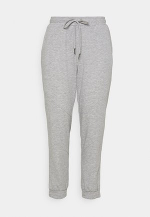 NMMISA PANTS - Tracksuit bottoms - light grey melange
