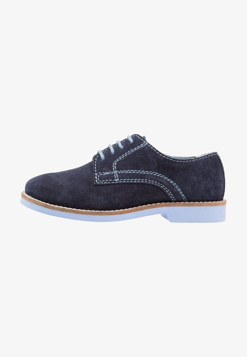 Friboo - LEATHER - Šněrovací boty - dark blue