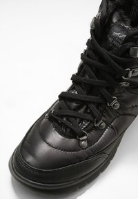 The North Face - THERMOBALL LACE II - Vinterstøvler - shiny black/iron gate grey - 5