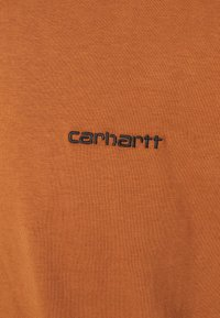 Carhartt WIP - SCRIPT EMBROIDERY - T-paita - rum/black - 5