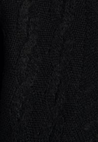 DKNY - CUT OUT RIBBED SWEATER  - Jumper - black - 2
